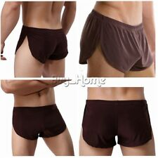 Mens Trunks Boxer Brief Shorts Underwear Pouch Bikini Swim Underpants  Ice Silk