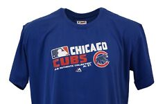 Chicago Cubs MLB Majestic Authentic Collection Women's BluT-Shirt, 1x & 2x, nwt