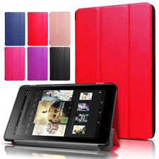 Stylish Magnetic Leather Case Cover For Amazon Kindle Fire 7 HD 8 2017 7th Gen