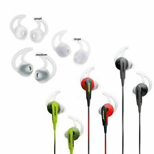 3 pairs S M L Silicone Earbud Tips for Bose IE2 SoundSport SoundTrue Headphones