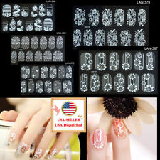 Diamond Nail Art Stickers Decals  Water Transfer Nail Full Wrap Decoration