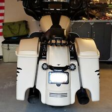 Sand Camo Denim Stretched Saddlebag Bottom 14+ Davidson Harley Street Road Glide