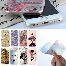 Ultra Thin Phone Case For iPhone 7 6 5 4 TPU Bags Cover For iPhone 5S 6S 4S 7 Pl
