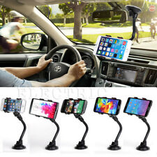 360° Car Holder Windshield Mount Bracket For iPhone Samsung Mobile Cell Phone YW
