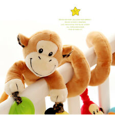 Baby Cot/Car Seat Pushcair Stroller Spiral Activity Hanging Decoration Toy Plush