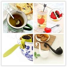 Quality Loose Tea Leaf Strainer Herbal Spice Silicone Filter Diffuser Nice   O