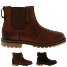 Mens Timberland Larchmont Chelsea Biker Pull On Casual Chelsea Boots All Sizes
