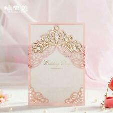 Wedding Laser Cut Elegant Invitation Invitations Cards Floral Card Guests New