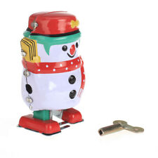 Classic Wind Up Tin Toy Clockwork Robot Vehicle Kids Xma's Toys Christmas Gifts