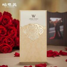 Wedding Floral Laser Cut Invitation Cards Lace Party Card Invitations Flower New