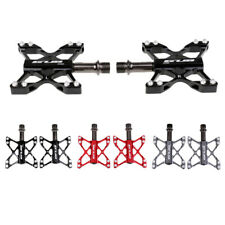 """Cycling MTB BMX Road Bike Bicycle Pedals 3 Bearings Cr-Mo Axis Pedals 9/16"""""""