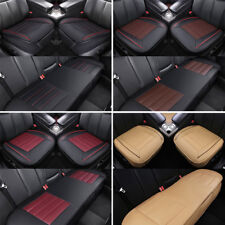 Car Auto 3D PU Leather Seat Cover Breathable Pad Mat Chair Cushion Universal