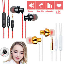 Universal Super Bass Stereo 3.5mm In-Ear Earphone Headphone Earbud Laptop Phone
