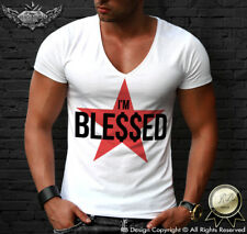 Fashion Men's T-shirt Feel Blessed Dollar Sign Tee Cool Muscle Tank Top MD744