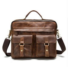 Men Bag Crossbody Bags Casual Tote Leather Handbags Messenger Laptop Bag for Men