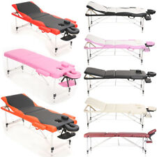 Aluminium Massage Table Beauty Salon Tattoo Therapy Mobile Couch Bed Adjustable