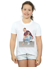 Justin Bieber Girls Flannel Photo T-Shirt