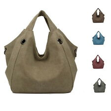 Graceful Women Vintage Canvas Totes Satchel Messenger Handbag Hobo Shoulder Bag