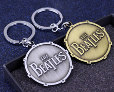 The Beatles (Shaped as a Shield ) - Key Chain Key Ring