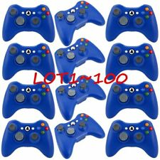 100x New Blue Wireless Game Remote Controller for Microsoft Xbox 360 Console HM