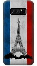 Vintage France Flag Eiffel Tower Phone Case for Samsung Galaxy Note8 Note5 Note