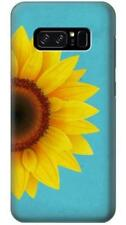 Vintage Sunflower Blue Phone Case for Samsung Galaxy Note8 Note5 Note 4 3 2