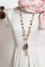 Wholesale Star Style Large Crystal Pendant flower Tassel Long Chain Necklace Sil