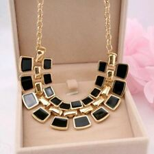 TOMTOSH 2016 Trendy Necklaces Pendants Link Chain Collar Long Plated Enamel Stat