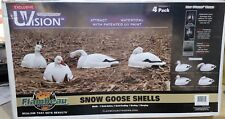 Flambeau Canada Goose, Snow Goose, White Fronted Goose Shells, 4 Pack