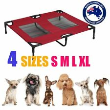 RED Heavy Duty Pet Dog Cat Summer Bed Trampoline Hammock Cot Size S M L XL OS
