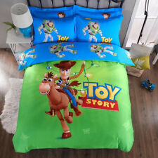 *** Toy Story w/ Bullseye Queen Quilt Cover Set - Flat or Fitted Sheet ***
