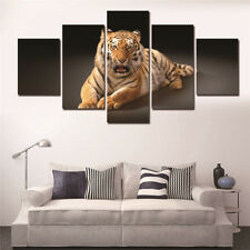 Animal Tiger Paintings Poster Modern Picture Abstract Canvas Wall Art Home Decor