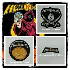 New Helloween Patch Sew Embroidered Iron On Rock Band Heavy Power Metal Music