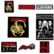 Scorpions Tokyo Tapes Patch Embroidered Sew Iron On Rock Band Music Heavy Metal