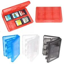 Game Card Carry Case Holder 28 in 1 Cartridge Storage Box for Nintendo 3DS DSLBN