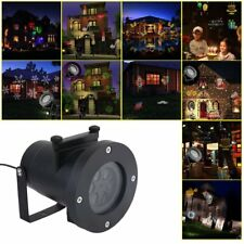 LOT White Xmas Snowflake Outdoor Projection Lamp LED Home Decor Lights Party HM