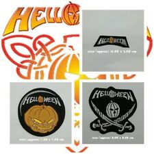 Helloween Band Patch Sew On Iron Embroidered Music Logo Rock Heavy Power Metal