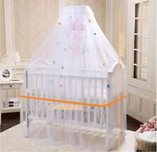 2016 high quality canopy and nets round white bed, baby bed canopy net with colo