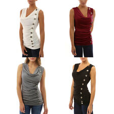 New Fashion Slim Single-breasted Basic T-shirt Autumn Pure Color Cotton Tops