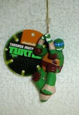 TEENAGE MUTANT NINJA TURTLES tmnt Leonardo CHRISTMAS ORNAMENT #2 new w tag