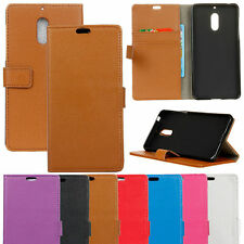 PU Leather Flip Wallet Book Case Cover Pouch Stand For Nokia Lumia Mobile Phones