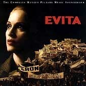 Evita [Motion Picture Music Soundtrack] by Madonna/Andrew Lloyd Webber... 2 disc