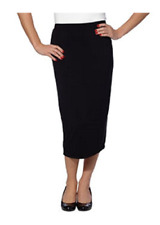 Matty M Midi Skirt Pull-on Style, Fully Lined Knee Length /XS/ Variety of colors