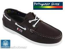 LADIES BOAT SHOES  HAND CRAFTED  LEATHER LINED -   PORTUGESE  BEPPI DECK SHOES
