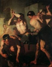 Classic Greco-Roman Mythology Art Print): The Forge of Vulcan by Giordano, 1663
