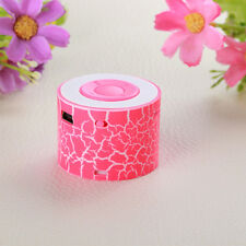 Portable Mini Stereo Bass Speakers Music Player Wireless TF MP3 Player Speaker
