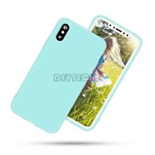 For iPhone X Case Candy Back Cover Flexible Glossy Shiny Soft TPU Gel Shell Skin