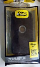 Genuine Otterbox Commuter Series Case Cover For Apple iPhone 5C BLK GRAY