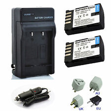 Panasonic Battery Pack DMW-BLF19E BLF19 For DMC-GH3 DMC-GH4 Charger