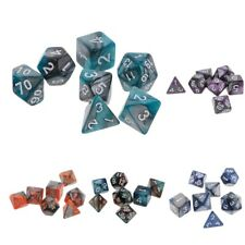 7PCS Polyhedral Dice for Dungeons and Dragons Dice DND Dice D20 D12 D10 D8 D6 D4